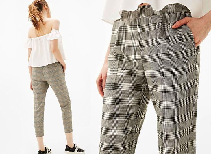 outfits con pantalones de pinzas