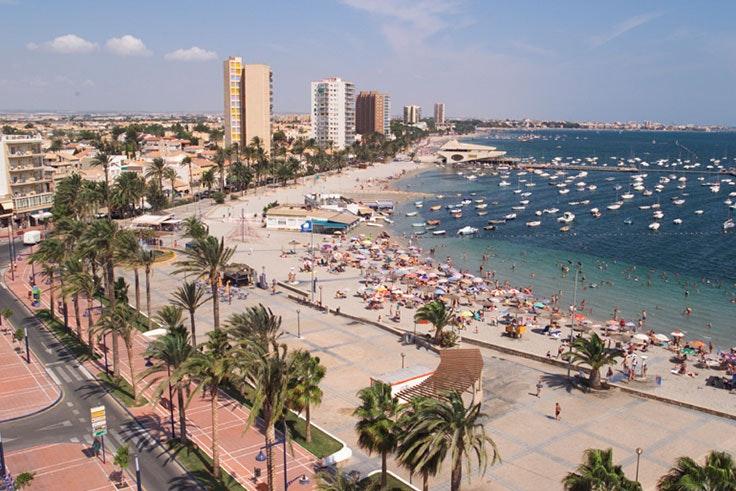 Playas de Santiago de la Ribera