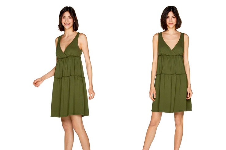 Vestidos-cortos-de-día-verano-2019-Benetton