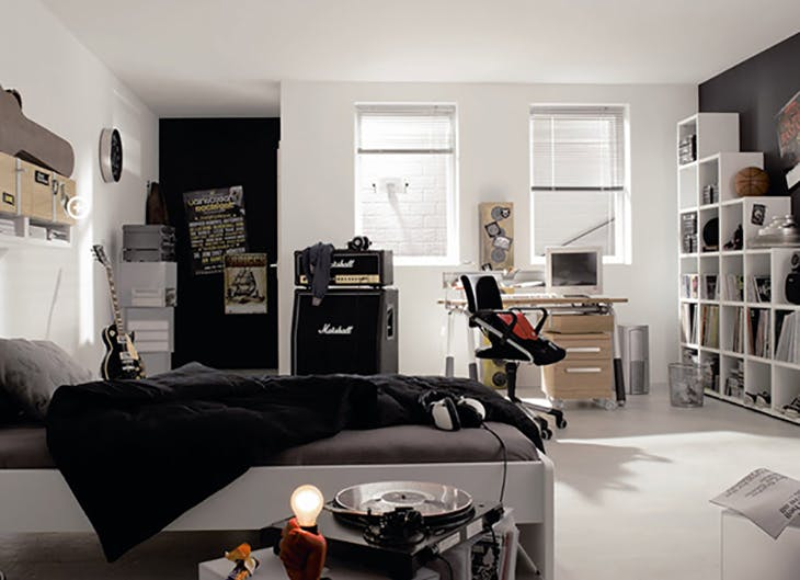 4 ideas para habitaciones juveniles for Ideas para decorar habitaciones juveniles