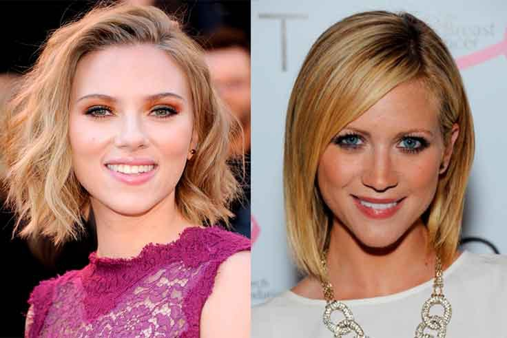 Corte de cabello para rostro triangular mujer