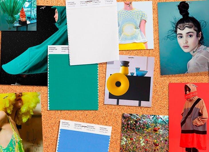 Paleta de colores de moda