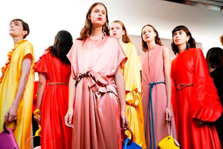 Desfiles en la semana de la moda de Londres