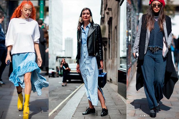 London fashion Week looks