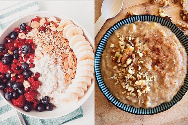 Desayunos saludables con avena
