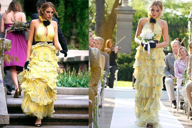 Los mejores vestidos de alta costura de Gossip Girl