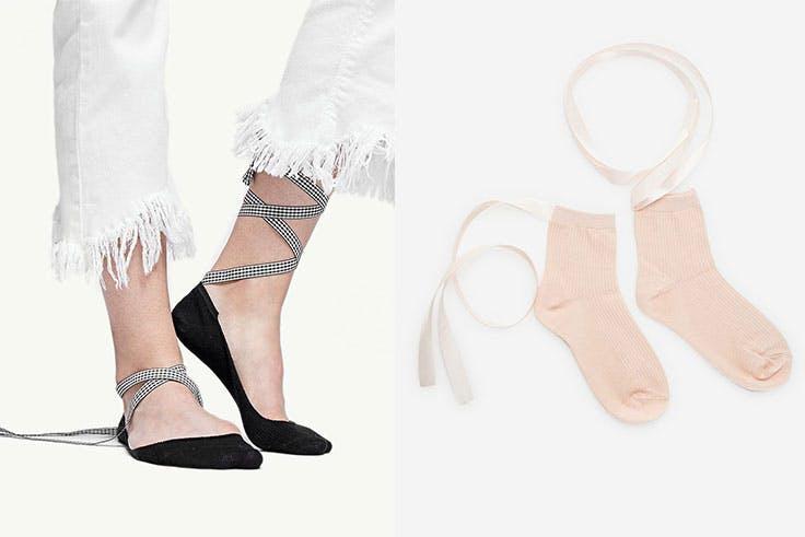 Los calcetines bailarinas para llevar esta temporada