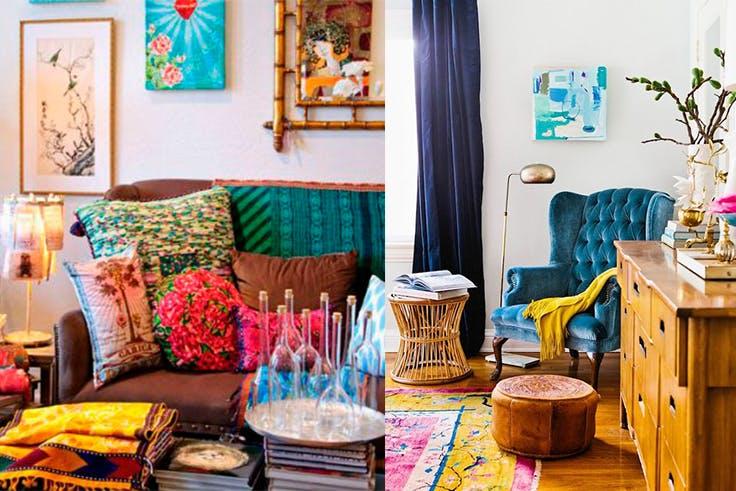 Los colores de moda para decoración