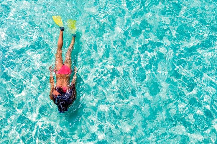 Natación en el Mar Menor