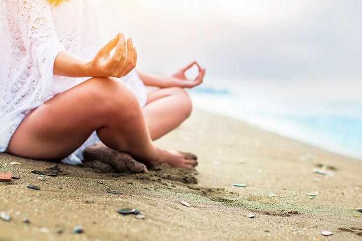 Yoga para practicar en la playa del Mar Menor