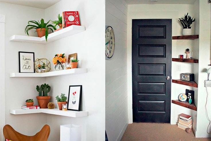 Tips de decoración con estanterías
