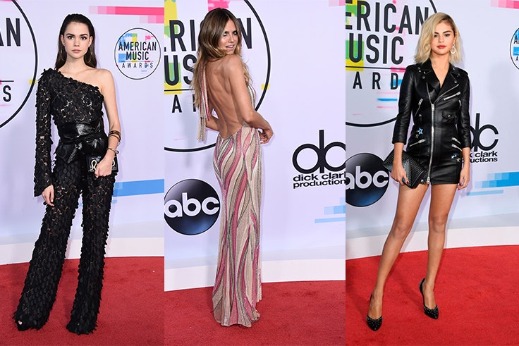 alfombra roja american music awards