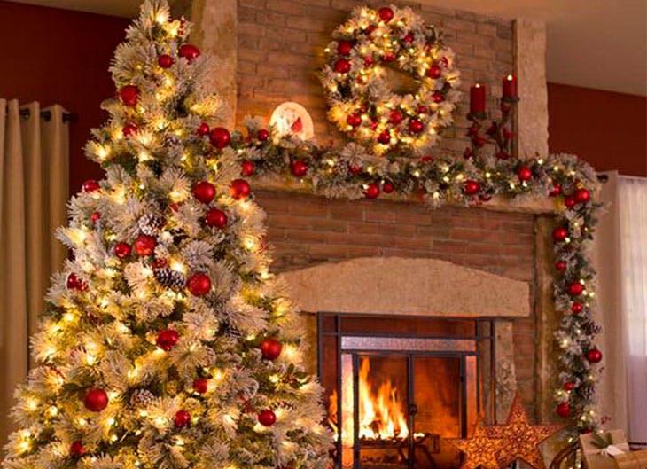 ideas para una decoracin de navidad original - Decoracion Navidea