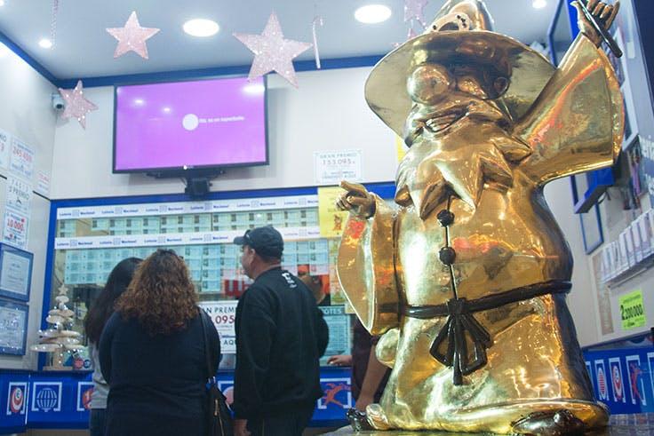 La Lotería de Navidad en San Javier