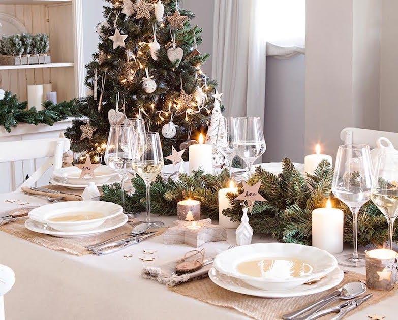 La mejore decoración de Navidad para tu mesa