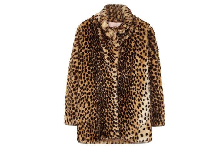 Combinar tu abrigo animal print