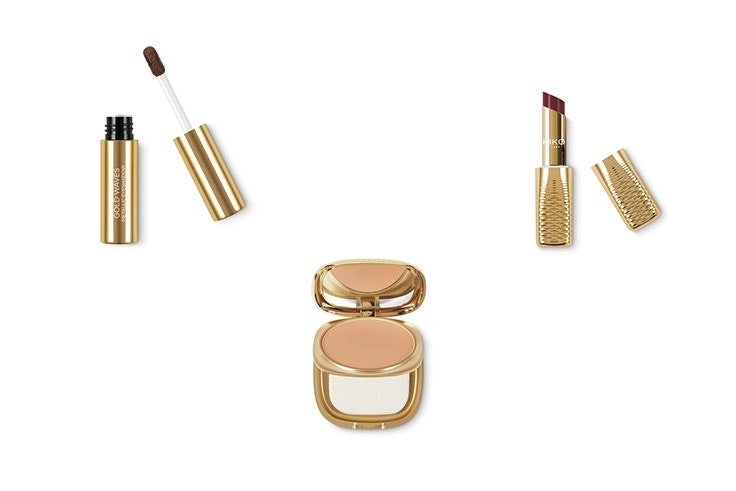 maquillaje gold