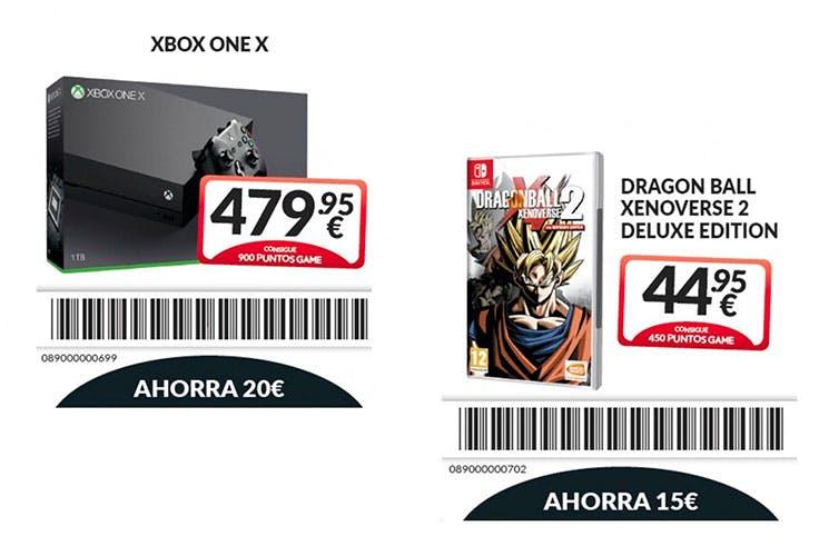 Videojuegos y tecnología al mejor precio