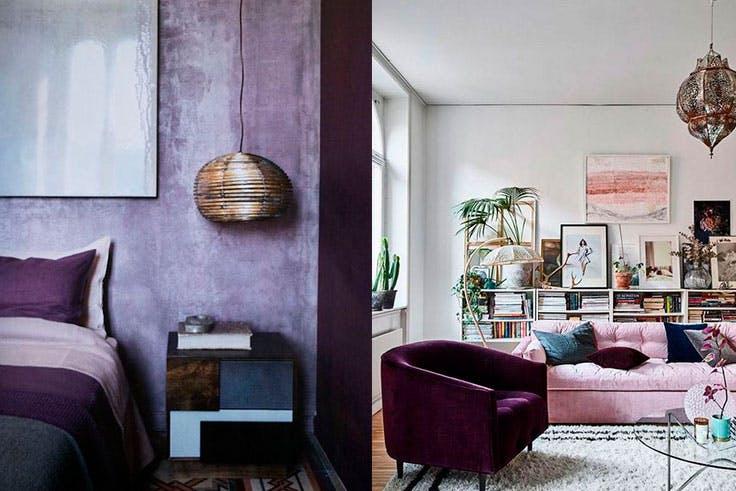 Ultra Violet nuevo color de moda en decoración