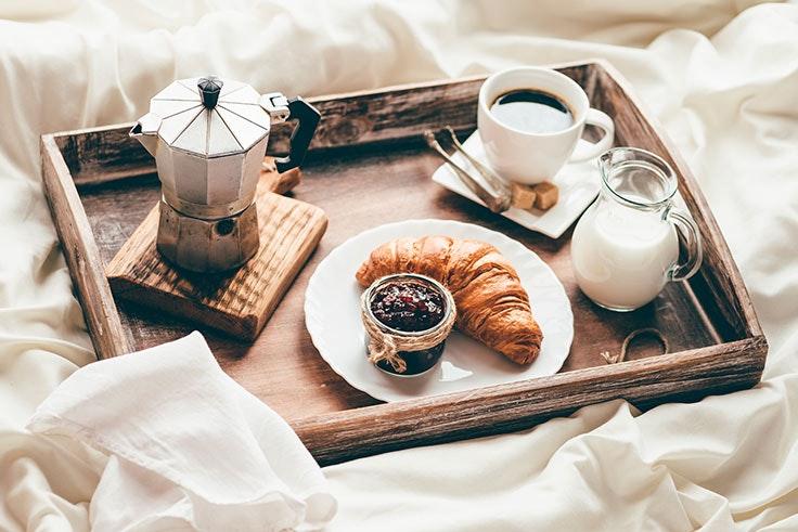 Desayuno relajado Blue Monday