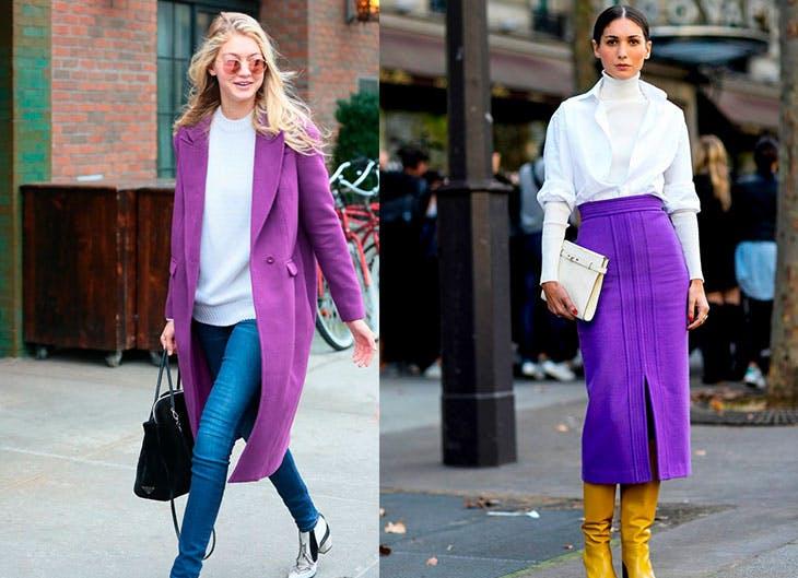 Ultra Violet el nuevo color de moda