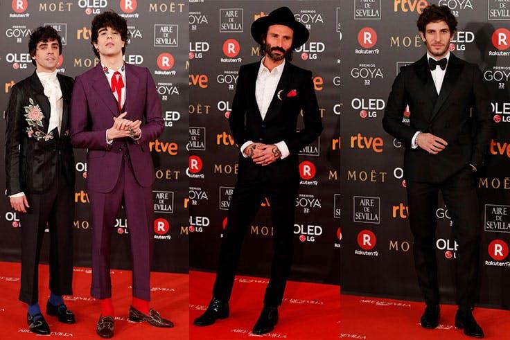 Los mejores looks de hombre de los Premios Goya