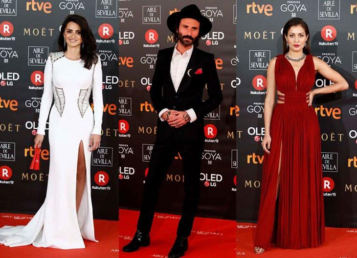 Los mejores looks de los Premios Goya