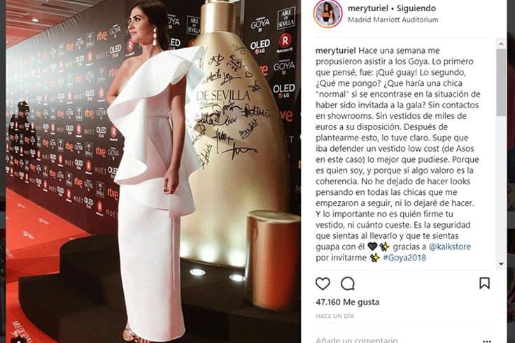 Los mejores looks de la gala de los Goya
