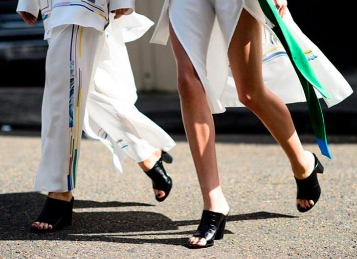 Tendencias en zapatos street style