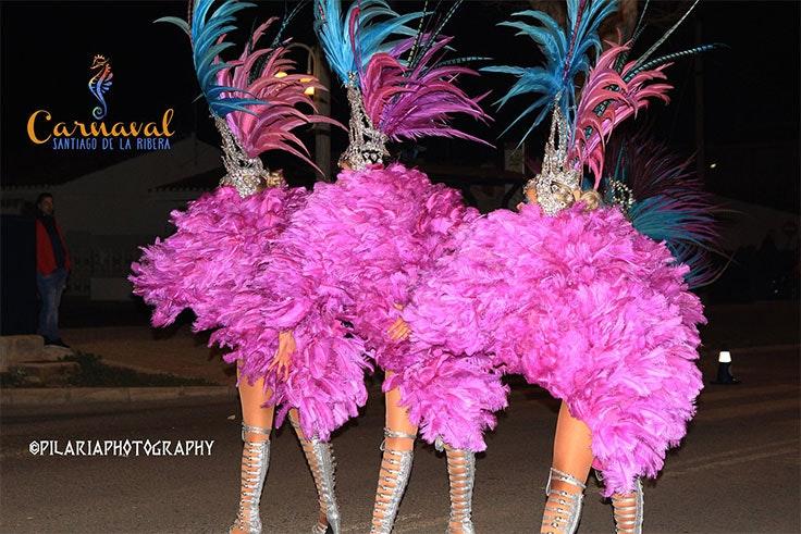 carnaval de santiago de la ribera desfile