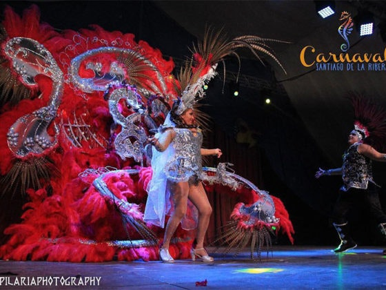 carnaval santiago de la ribera