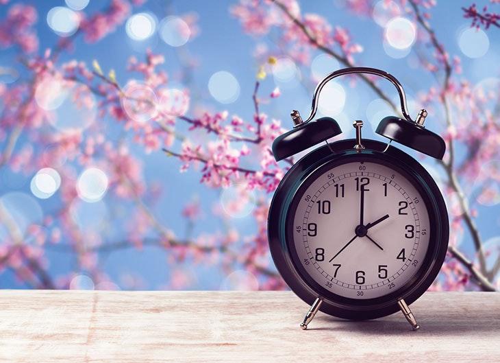 El nuevo cambio de hora para recibir a la primavera