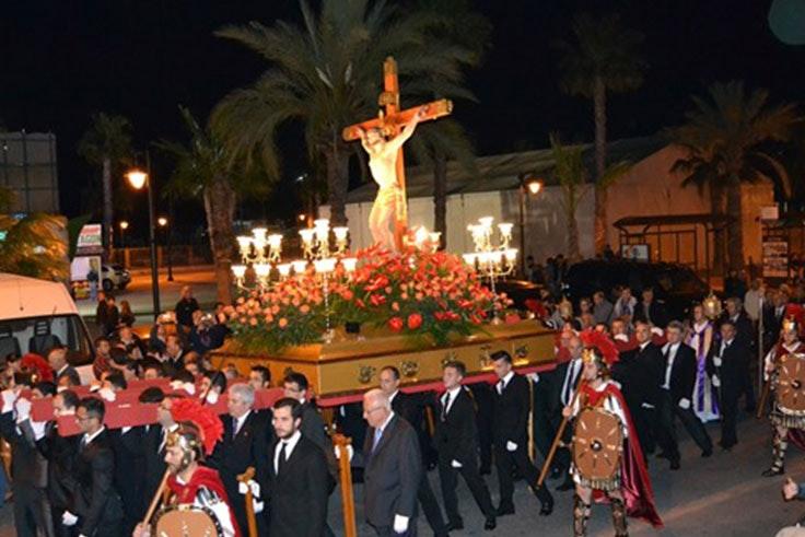 Semana Santa 2018 con el Cristo del Mar Menor
