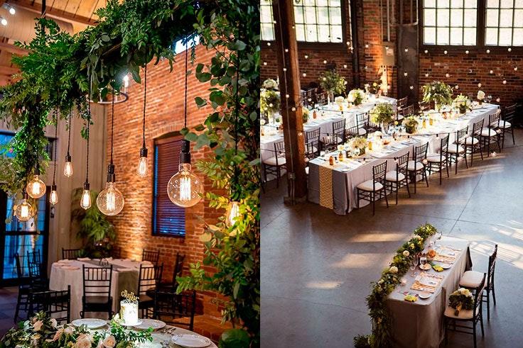 Ideas para bodas con una decoración industrial y moderna