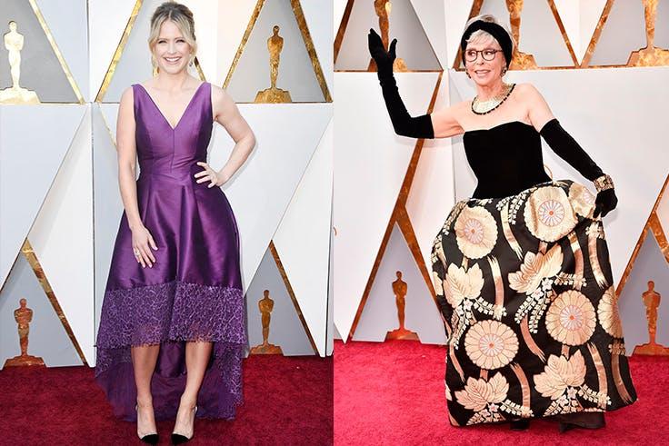 Los peores estilismos de los Oscar 2018