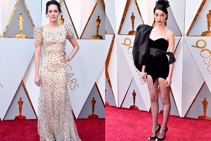 Los peores outfits de los Oscar 2018