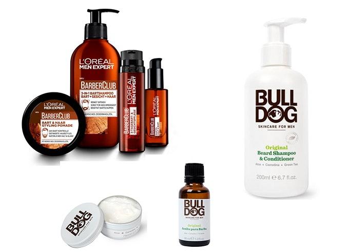 productos para lel cuidado de la barba