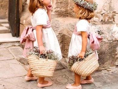 Looks de niños para bautizos