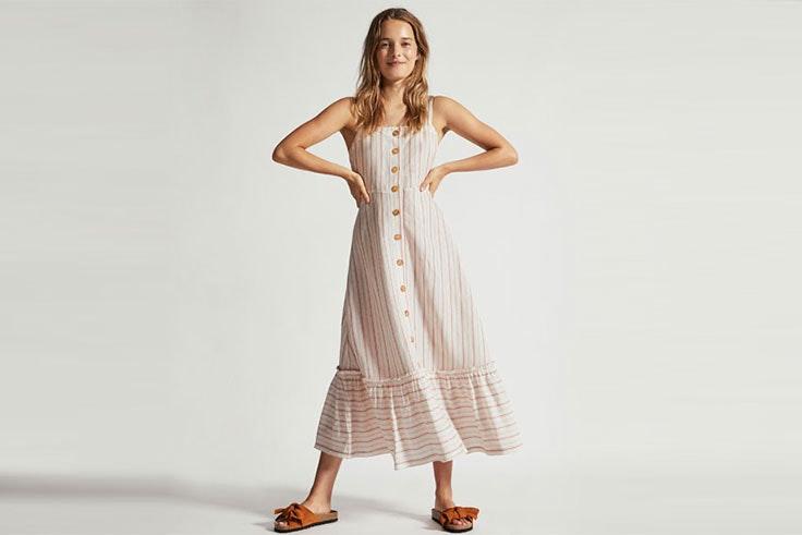 Tendencia primavera con vestidos largos