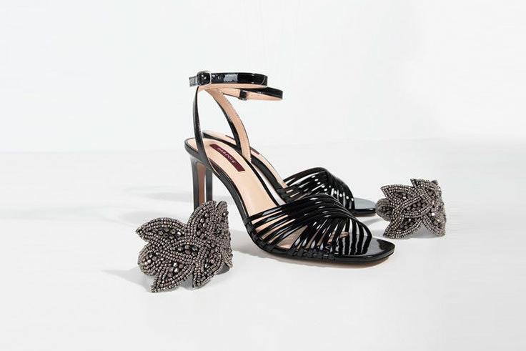 Sandalias de tacón para los looks de invitada