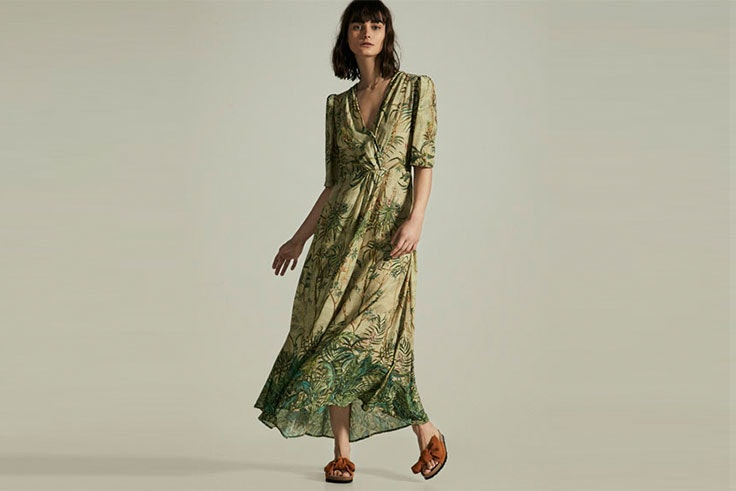 Tendencias de vestidos largos de primavera
