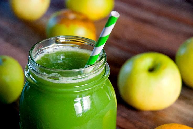 Dieta detox con batido verde