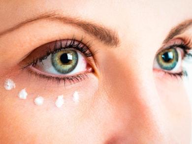 Contorno de ojos para combatir ojeras, arrugas y bolsas