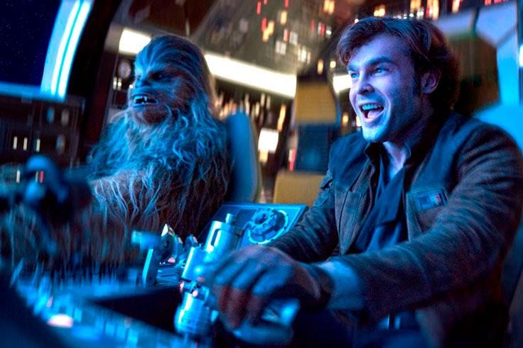 El nuevo estreno de la película Han Solo: Una historia de Star Wars