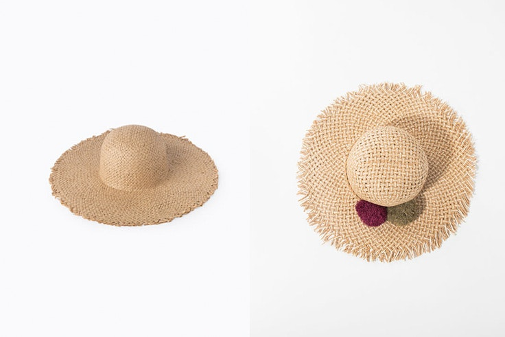 Sombreros de paja en tendencia esta temporada
