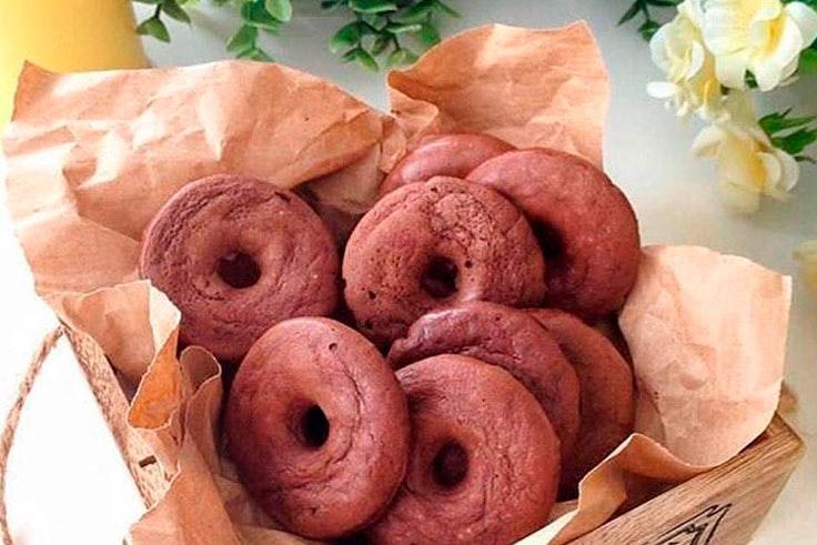 Receta de donetes como snack saludable