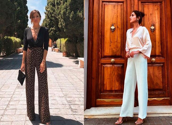 Tendencia de pantalones palazzo para este verano