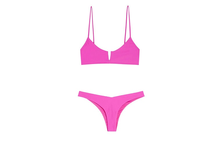 Pull and Bear mujer- bikini de color rosa