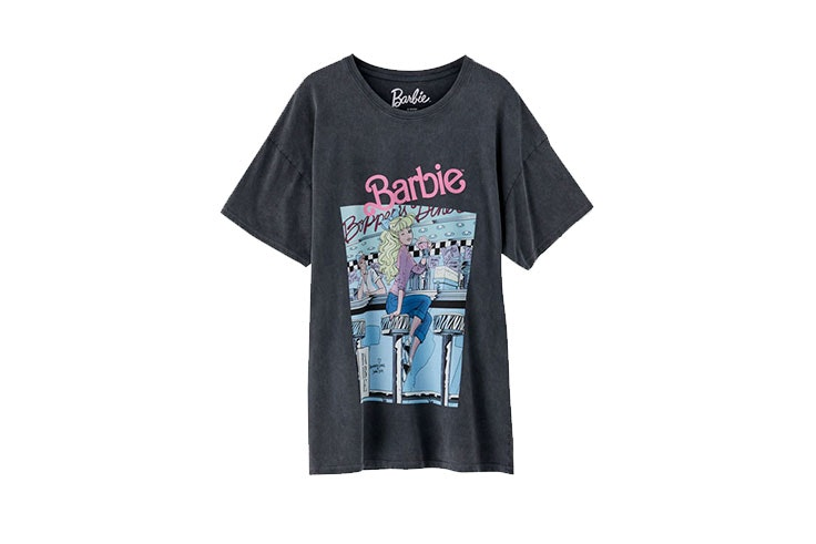 Pull and Bear mujer- camiseta de Barbie