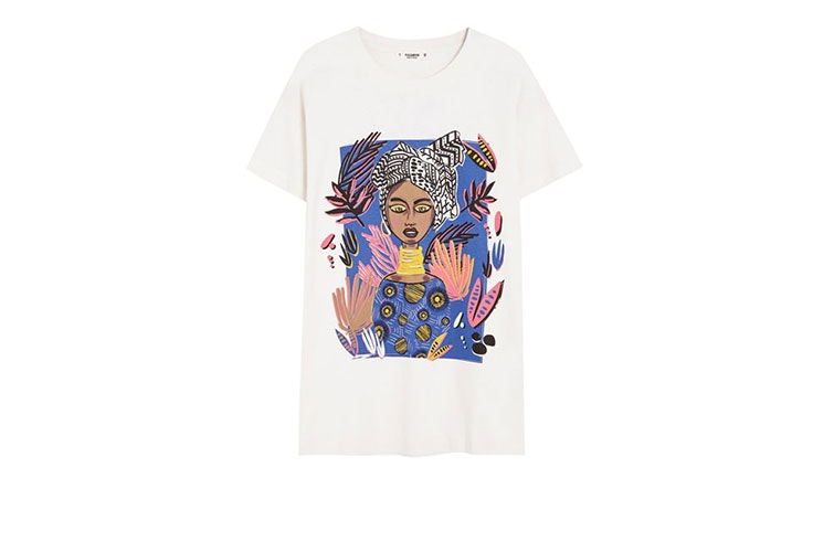 Pull and Bear mujer- camisetas